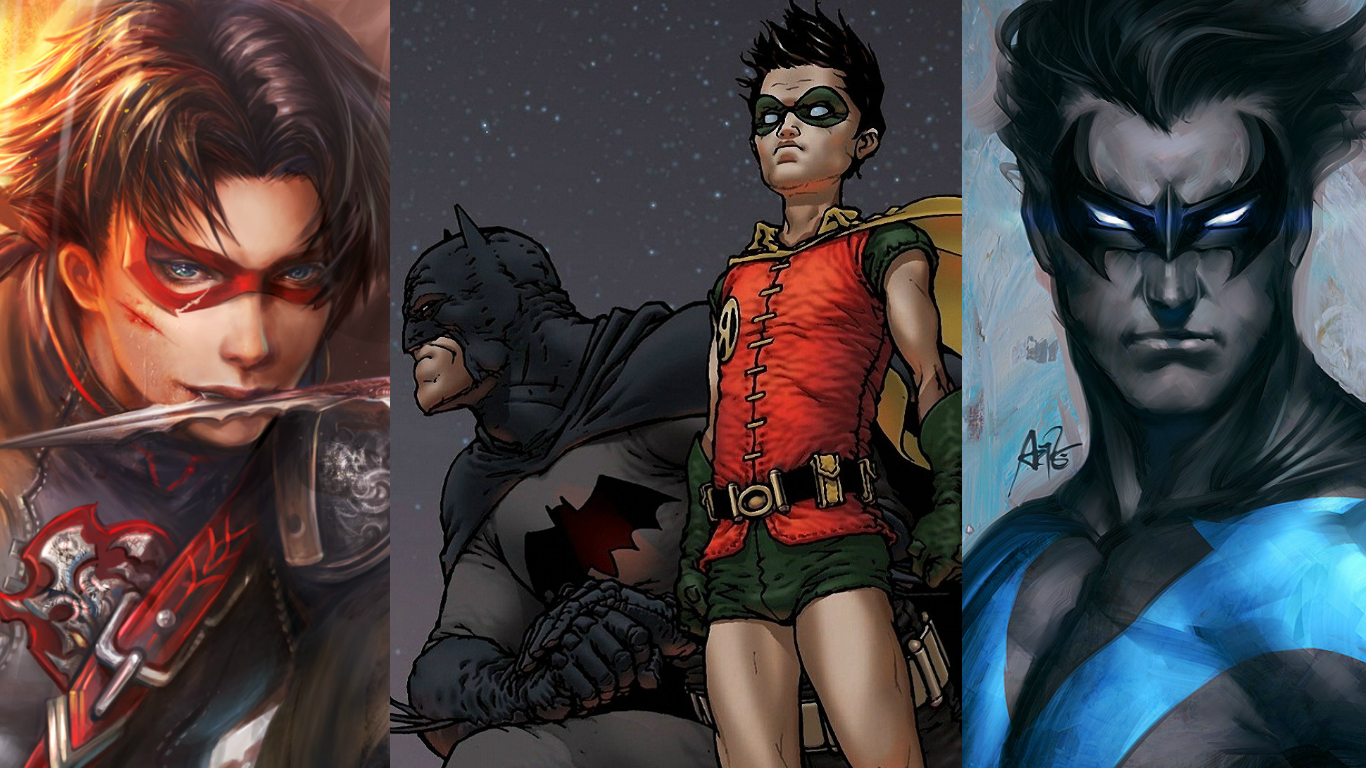 Photo of 5 Robins That Ever Existed in Batman Comics
