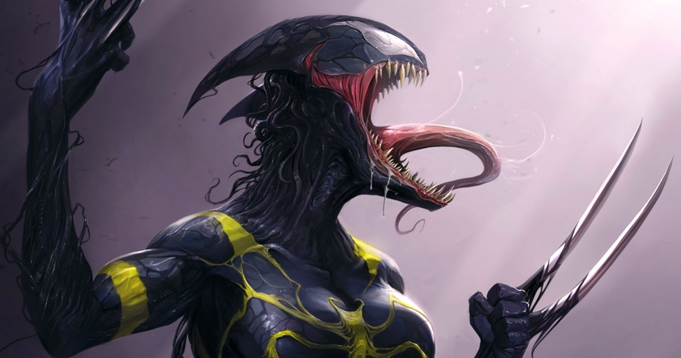 Photo of First Look: Wolverine Becomes Venom