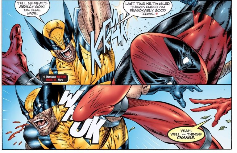Wolverine and Deadpool have five times in the comics, so Wolverine vs Deadpool, let's check out what happened there and who won.