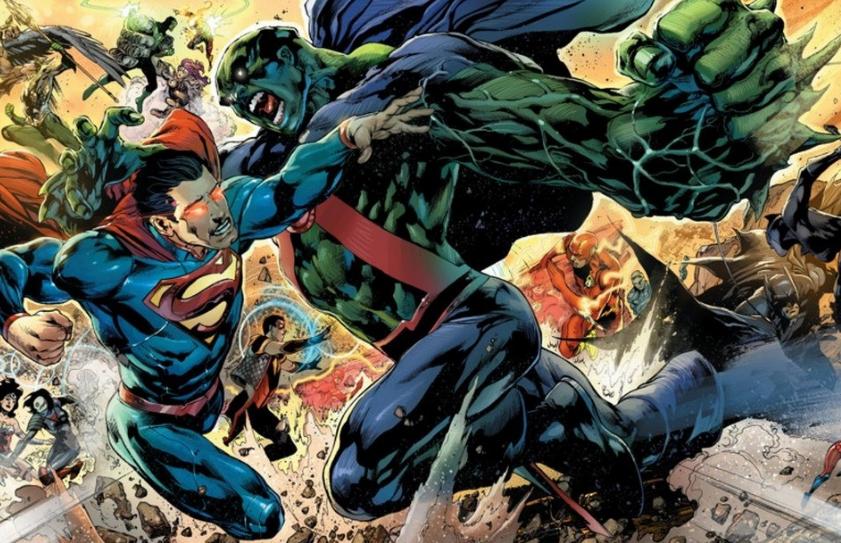 Superman VS Martian Manhunter