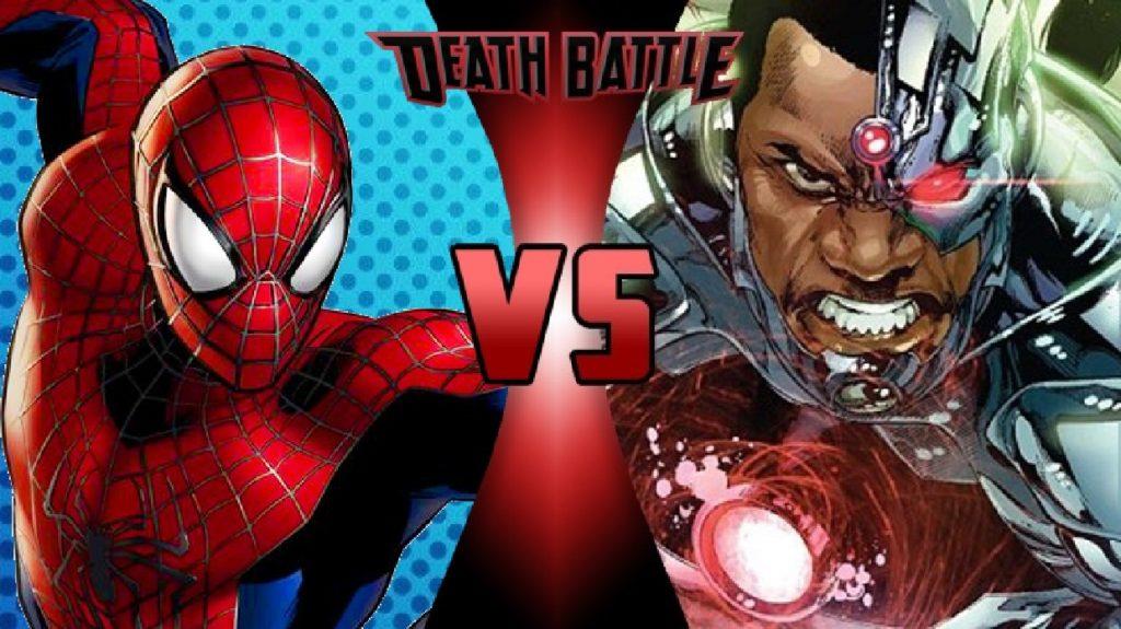 Spiderman Vs Cyborg