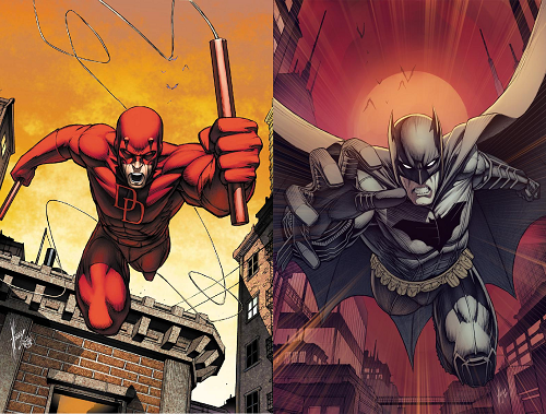 Batman vs Daredevil