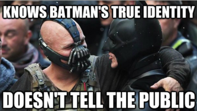 Photo of 14 Funniest Memes Made On Batman And Bane