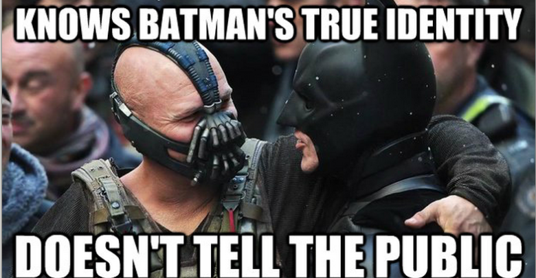 Funniest Memes Ever Made : Funniest memes made on batman and bane quirkybyte