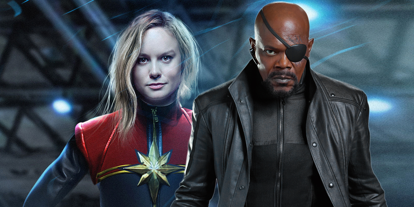 Photo of Captain Marvel Plays The Fury Card In The Marvel Cinematic Universe