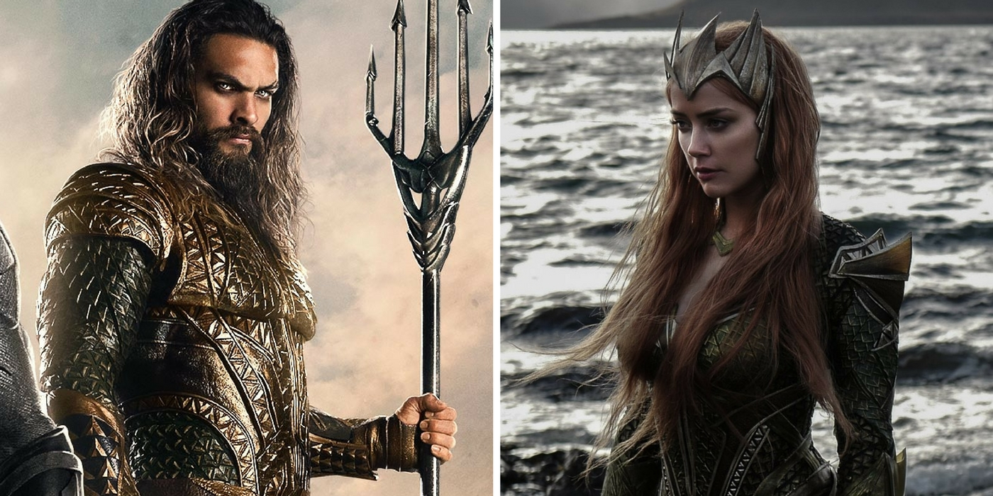 Photo of Amber Heard and Jason Momoa Looking Hot In This New Aquaman Set Image