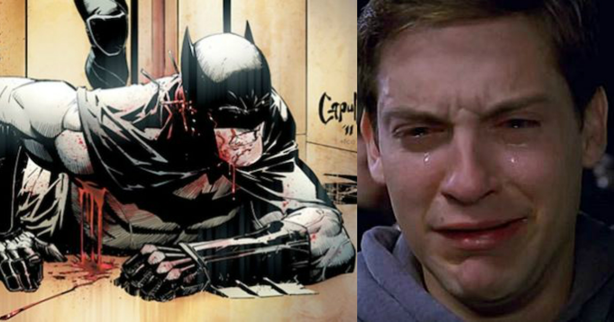 Photo of 9 Most Heart-Wrenching Events That Made Batman Cry Like Spiderman