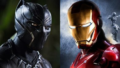black panther iron man