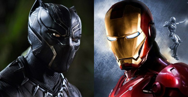 black panther iron man