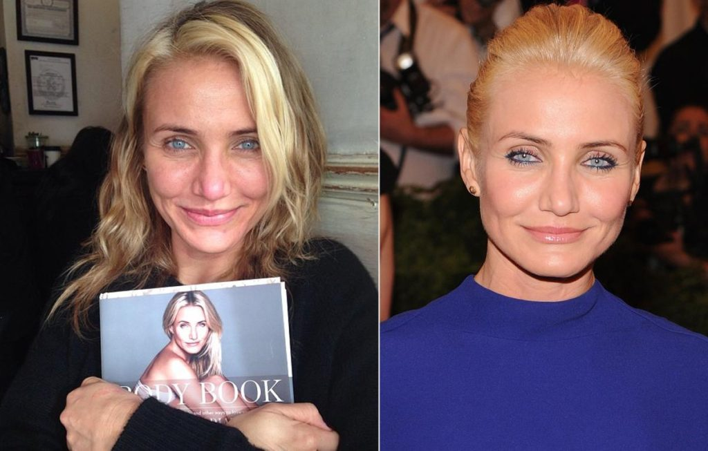 6 Celebrities Who Look Too Old Without Makeup - QuirkyByte