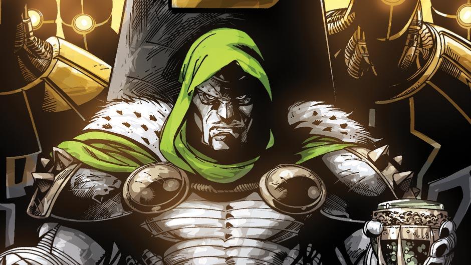 Doctor Doom Vs Sinestro