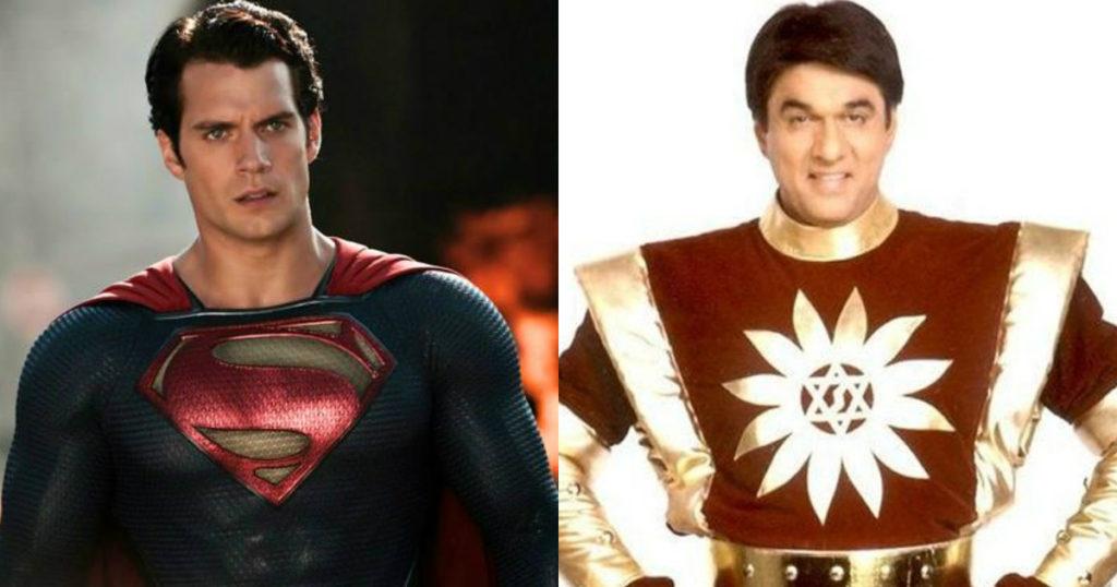 Superman vs Shaktimaan
