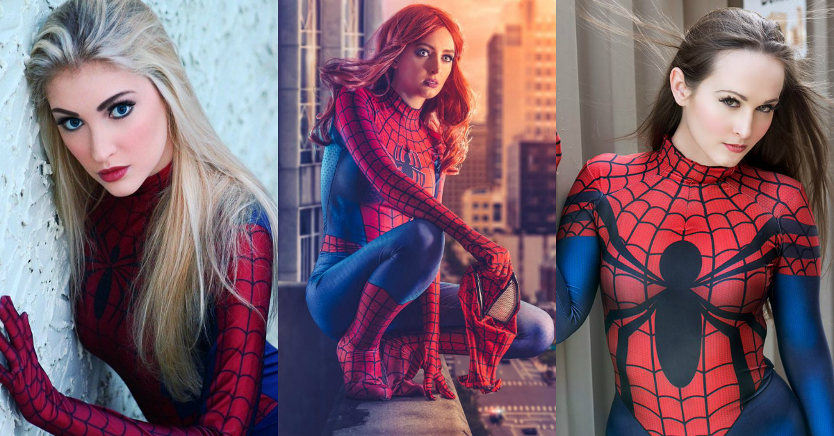 Photo of 12 Hottest Spider-Girl Cosplays That Are Too Hot To Handle