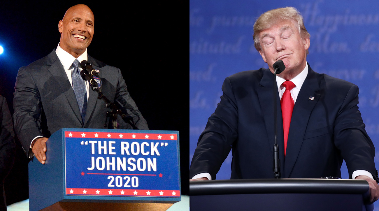 Photo of The Rock For President of USA In 2020? This Shit Just Got Real!