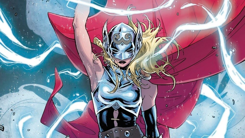 Captain Marvel Vs. Jane Foster Thor