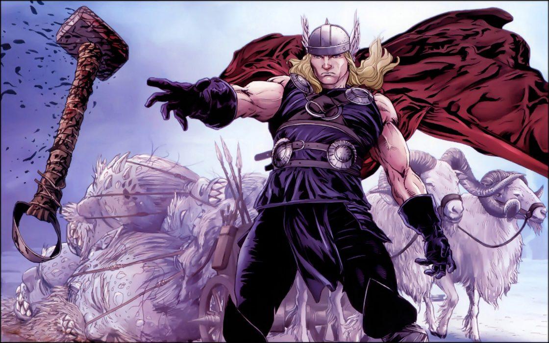 MCU Thor Norse Mythology