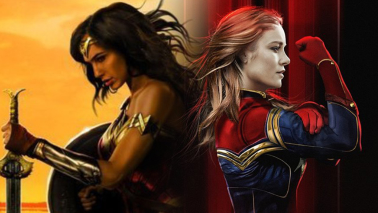 Captain Marvel Brie Larson Wonder Woman