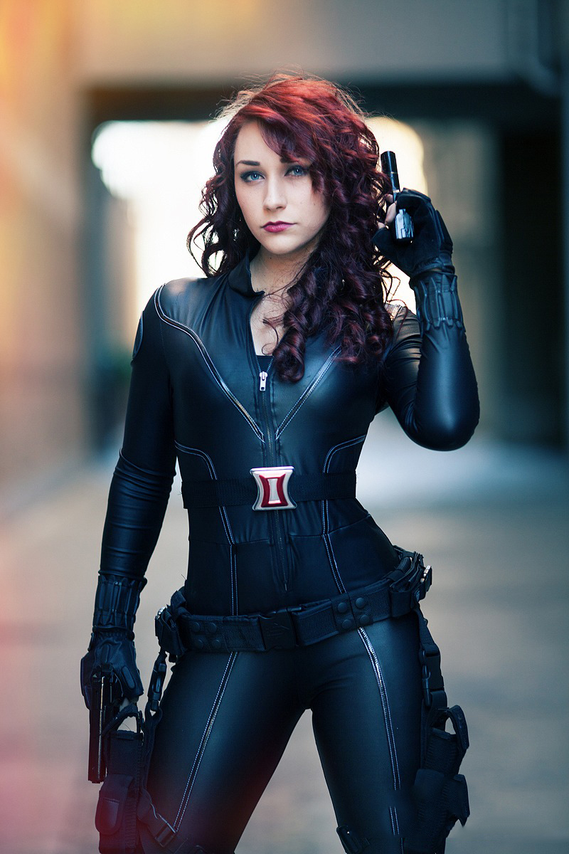 Black Widow Cosplays