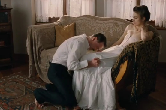 12 Actresses You Won't Believe Performed Smoking Hot ... A Dangerous Method Scene