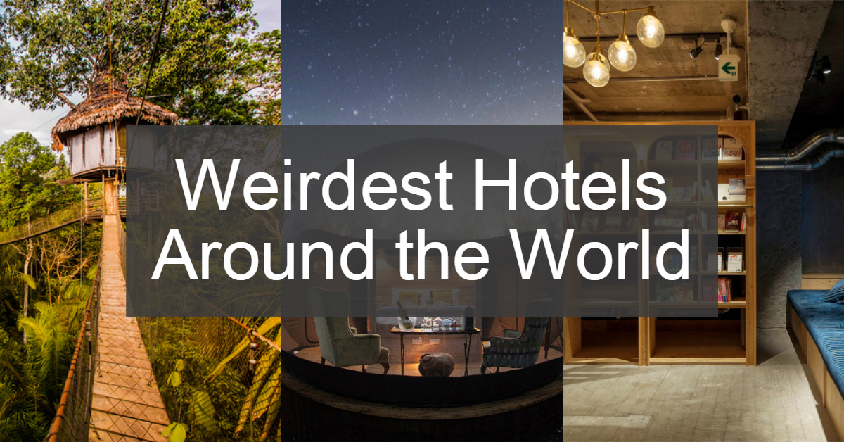 Photo of 14 Weirdest Hotels From Around The World Which You Should Visit At Least For Once