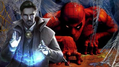 Photo of The New Set Photo of Avengers Infinity War Unite Dr. Strange and Spiderman