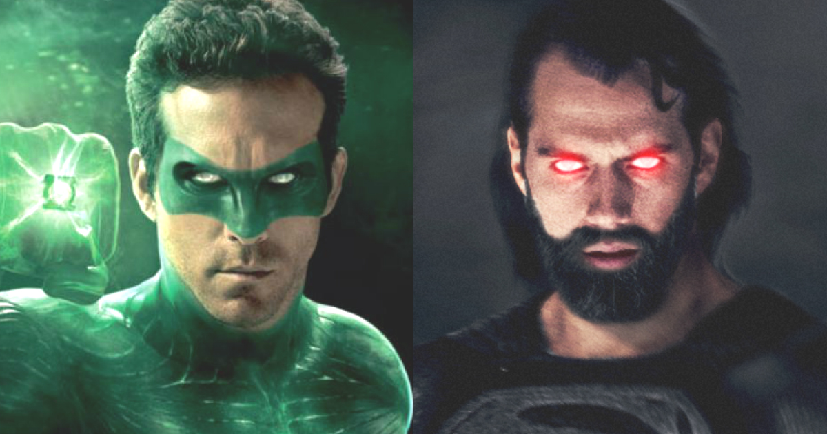 Green lantern vs superman