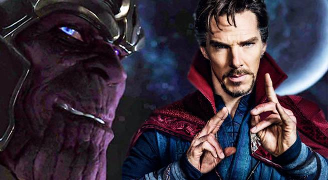 Avengers: Endgame Thanos Doctor Strange