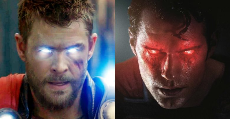 Thor vs Superman Chris Hemsworth