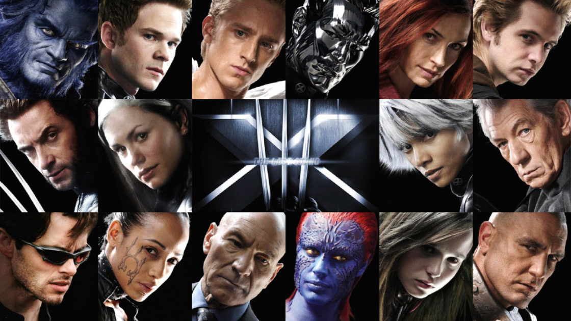 X Men Cast Here's The X-...
