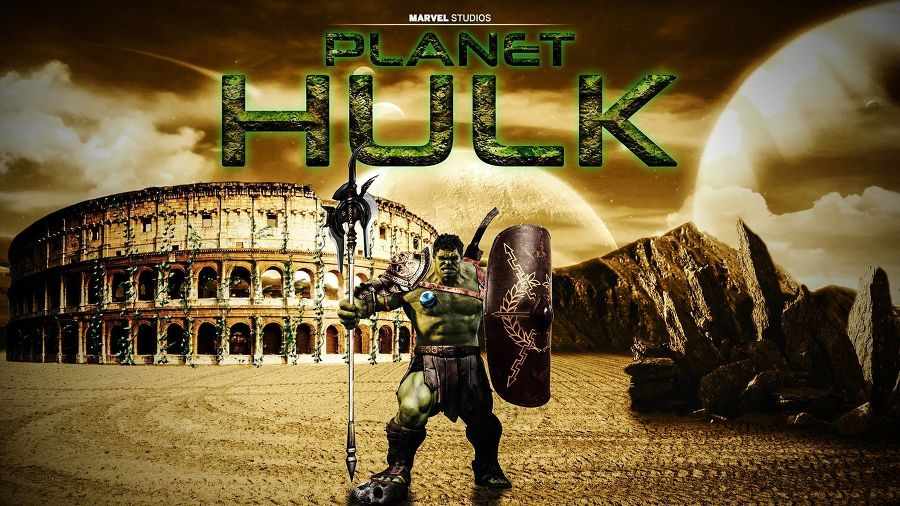 Marvel Reveals The Whole Idea Behind Planet Hulk In Thor Ragnarok