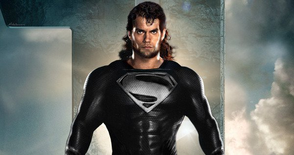 Download The Image Of The Evil Superman With Black Suit: Justice League: This Will Piss You Off If You Are A