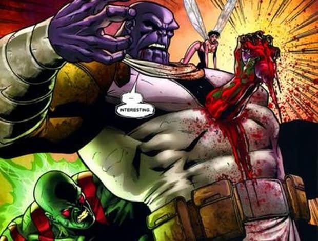 Drax The Destroyer Vs Venom: The Killer Of Thanos Has Been Revealed And It's Not An Avenger