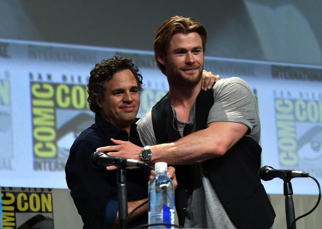 Mark Ruffalo Avengers: Endgame Chris Hemsworth