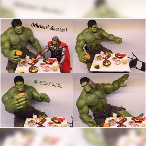 Hulk smash you - 3 6