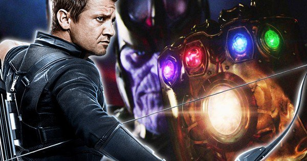 why hawkeye was not there in the avengers infinity war trailer?