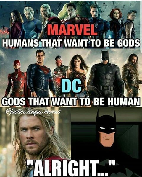 37 Infinity War Vs DC Funny Memes That Might Start A War