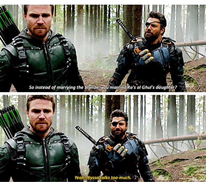 Oliver Queen Arrow Island 15 Funniest Arrow Vs D...