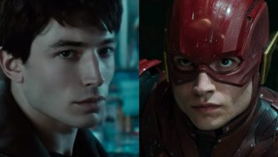 "Photo of Ezra Miller's Barry Allen Is Not ""The Flash"" In The Justice League"