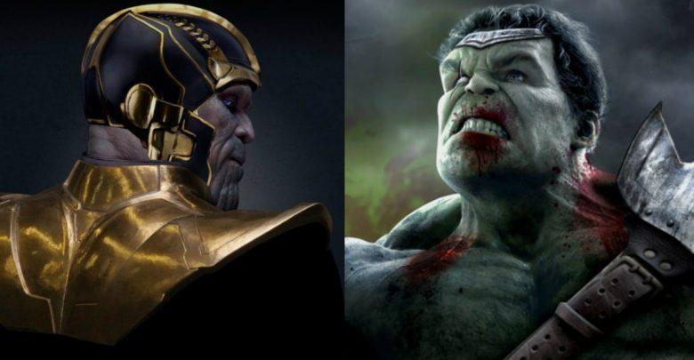 Avengers: Endgame Thanos Hulk