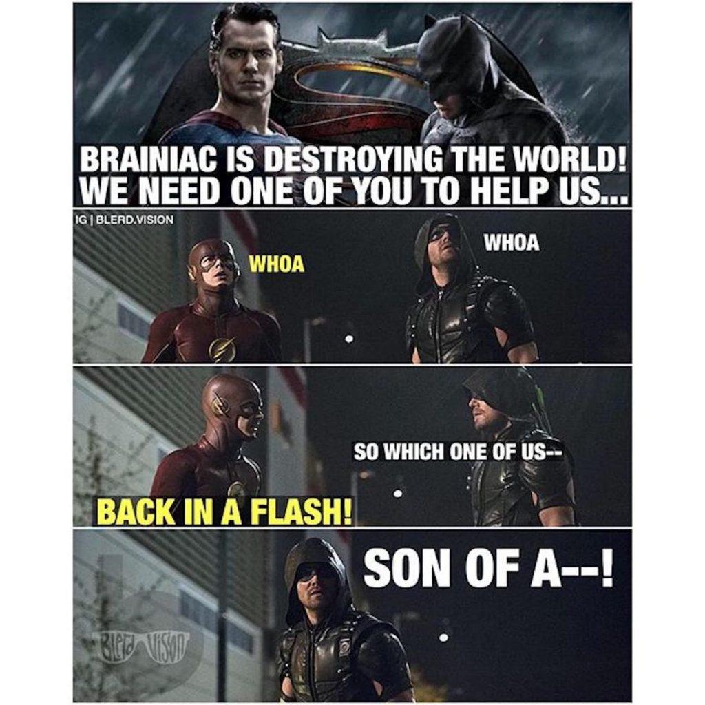 Arrowverse vs DCEU Memes