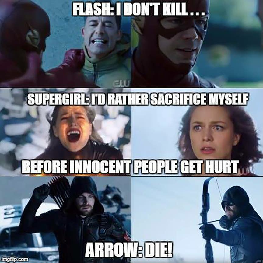 18 Funniest Crisis on Earth-X Memes That Only Its True ...