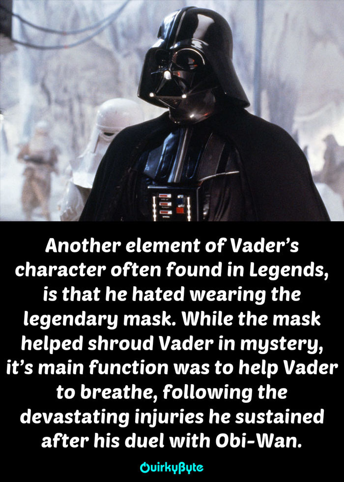 20 Amazing Things About Darth Vader That Every Fan Needs ...