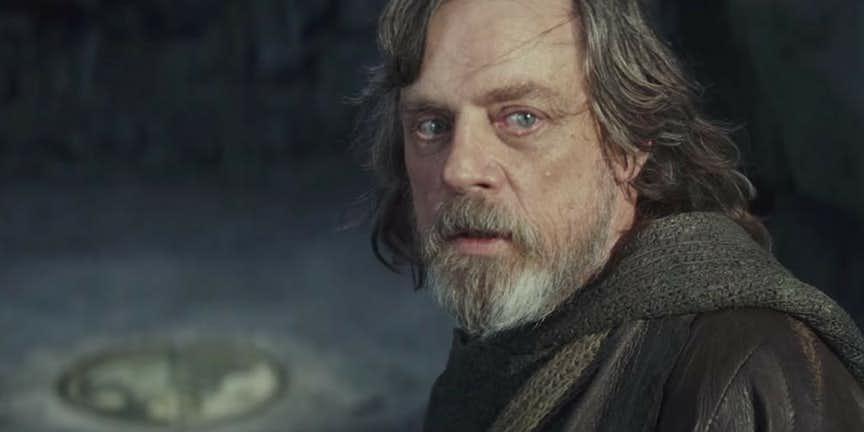 Star Wars Episode 9 Theory Luke Skywalker