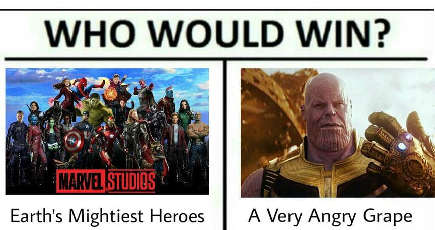 28 Funniest Thanos Memes That Will Make You Laugh
