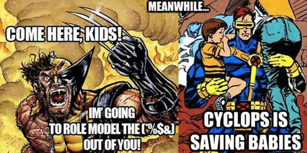 Wolverine vs Cyclops memes