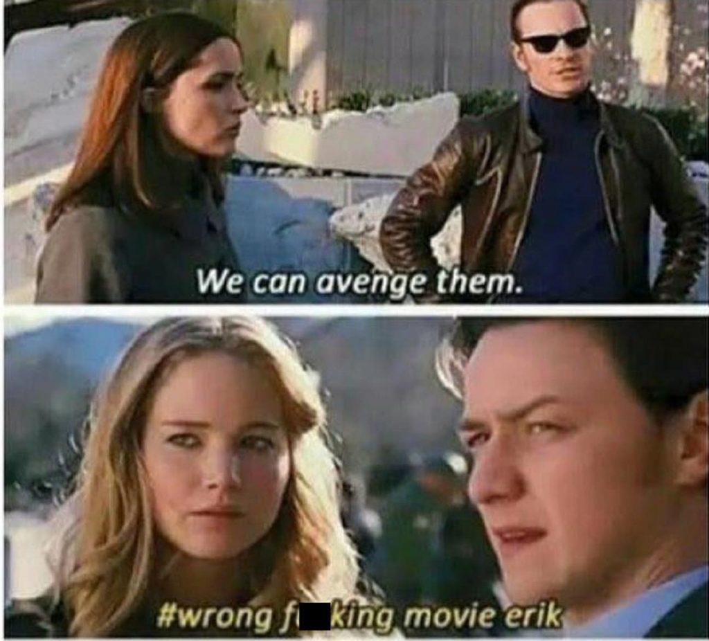 Professor X vs Magneto memes