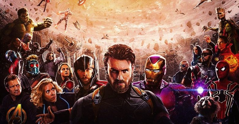 Powerful Marvel Superhero avengers infinity war