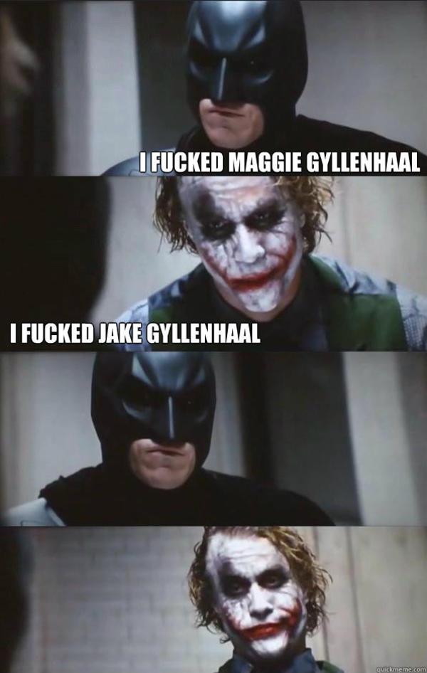 Joker vs Batman memes