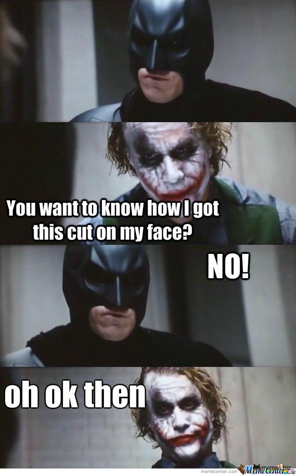 29 Funniest Joker Vs Batman Memes That Will Make You Laugh Out Loud