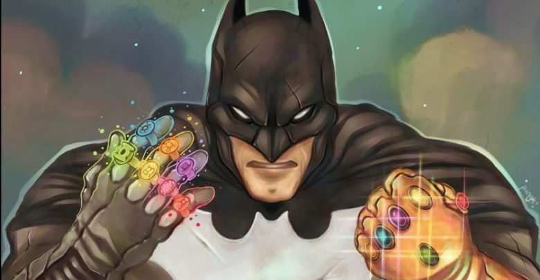 Dc Comics Does The Impossible Batman Wears The Infinity